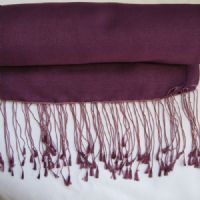 Watersilk Pashmina (Purple Dusk) F50